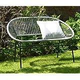 Brilliant Sue Ryder String Rocking Retro Moon Chair Grey Garden Inzonedesignstudio Interior Chair Design Inzonedesignstudiocom
