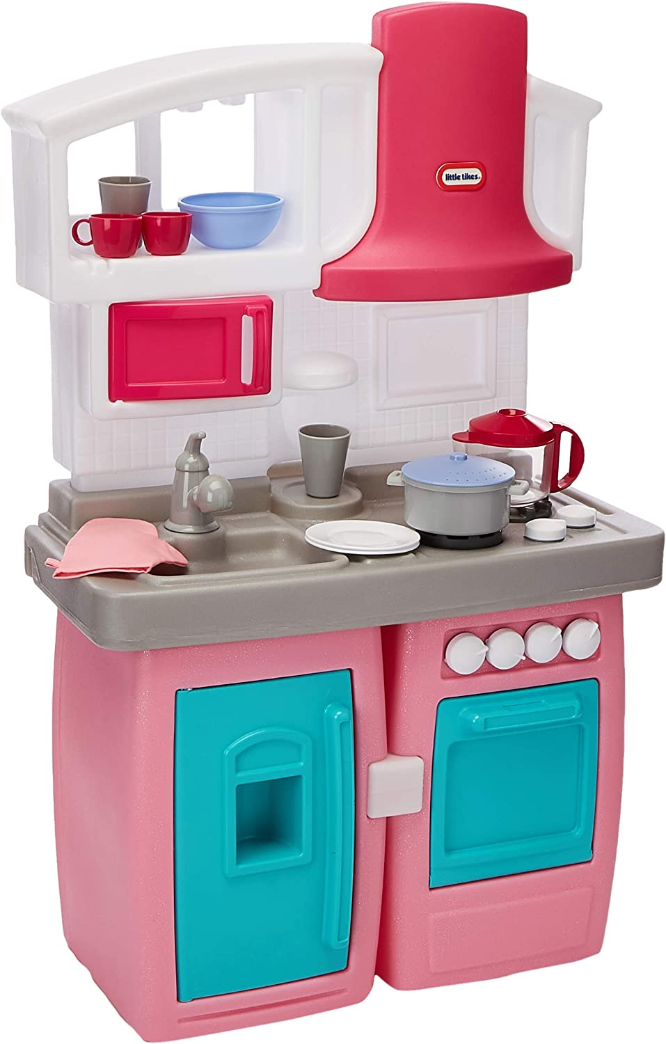Amazon Com Little Tikes Bake N Grow Kitchen Exclusive Toys Games