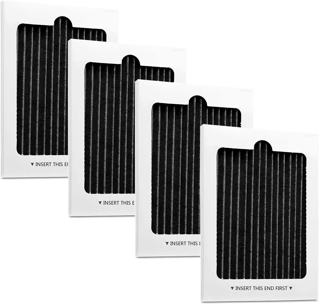 Refrigerator Air Filter Replacement Compatible with Electrolux Frigidaire Pure Air Ultra PAULTRA EAFCBF Air Filter, 4 Pack, 242061001, 241754001