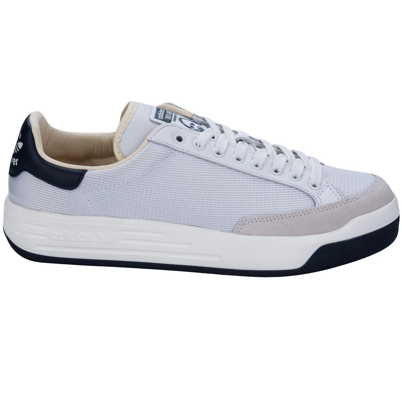 fcfeb5114a5a adidas Mens Originals Mens Rod Laver Super Trainers in White - UK 9   Amazon.co.uk  Shoes   Bags