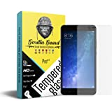 Gorilla guard's Pro quality screen guard for Xiaomi Mi Max 2 with HD+ ultra clear edge to edge 9H hardness, UV protect & anti-smudge technology TEMPERED glass phone protector