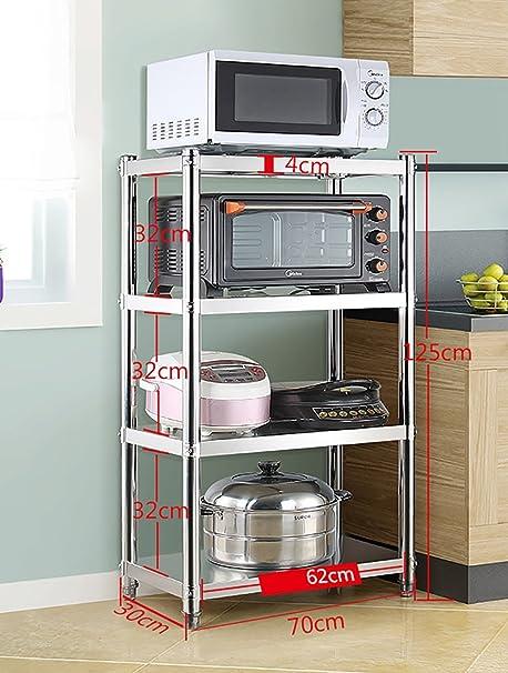 Almacenamiento y organización de la cocina Cocina Estante Piso ...