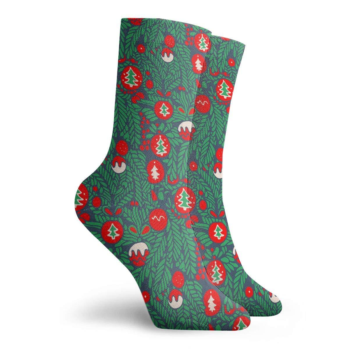 Animal Candy Elk Christmas Ball Fashion Dress Socks Short Socks Leisure Travel 11.8 Inch