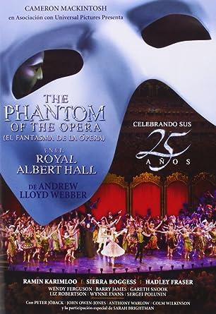 El Fantasma De La Opera (El Musical) [DVD]: Amazon.es: Ramin ...