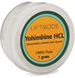 Yohimbine HCl - 1 Grams (400 Servings at 2.5 mg) | #1 Value for Money #Top Libido Supplement | For Men & Women, Fat Burner, Male & Female Power Powdered Yohimbe Bark Extract