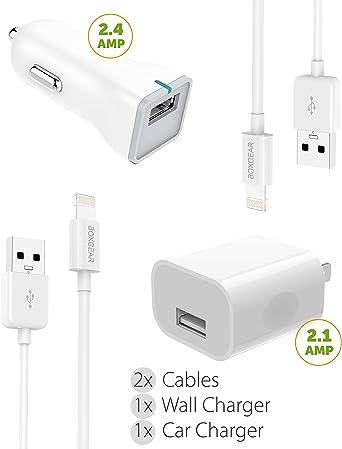 Kit de Cargador Cable Apple Lightning de Apple por boxgear