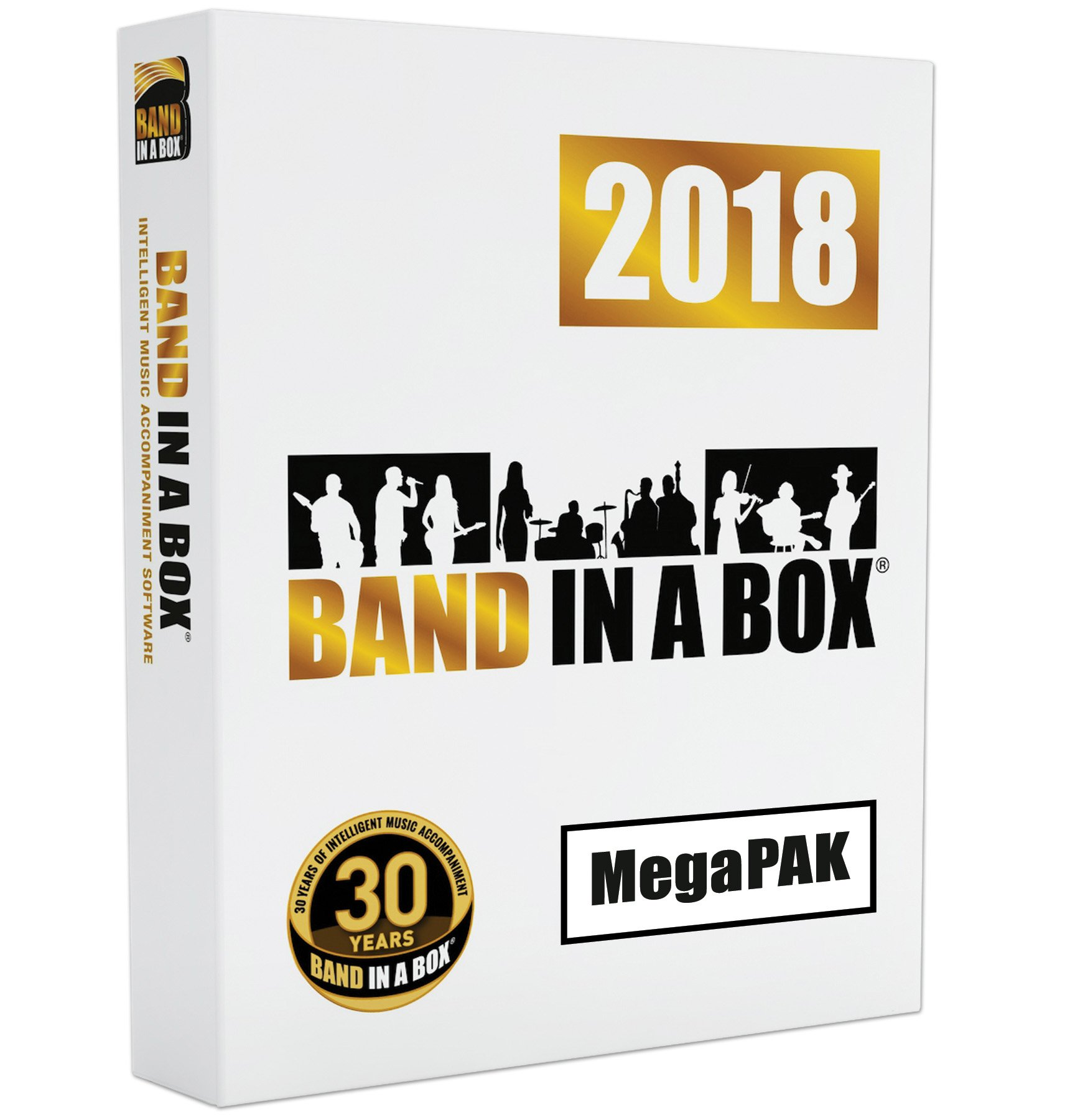 Band-in-a-Box 2018 MegaPAK [Mac DVD-ROM] - Create your own backing tracks by PG Music Inc.