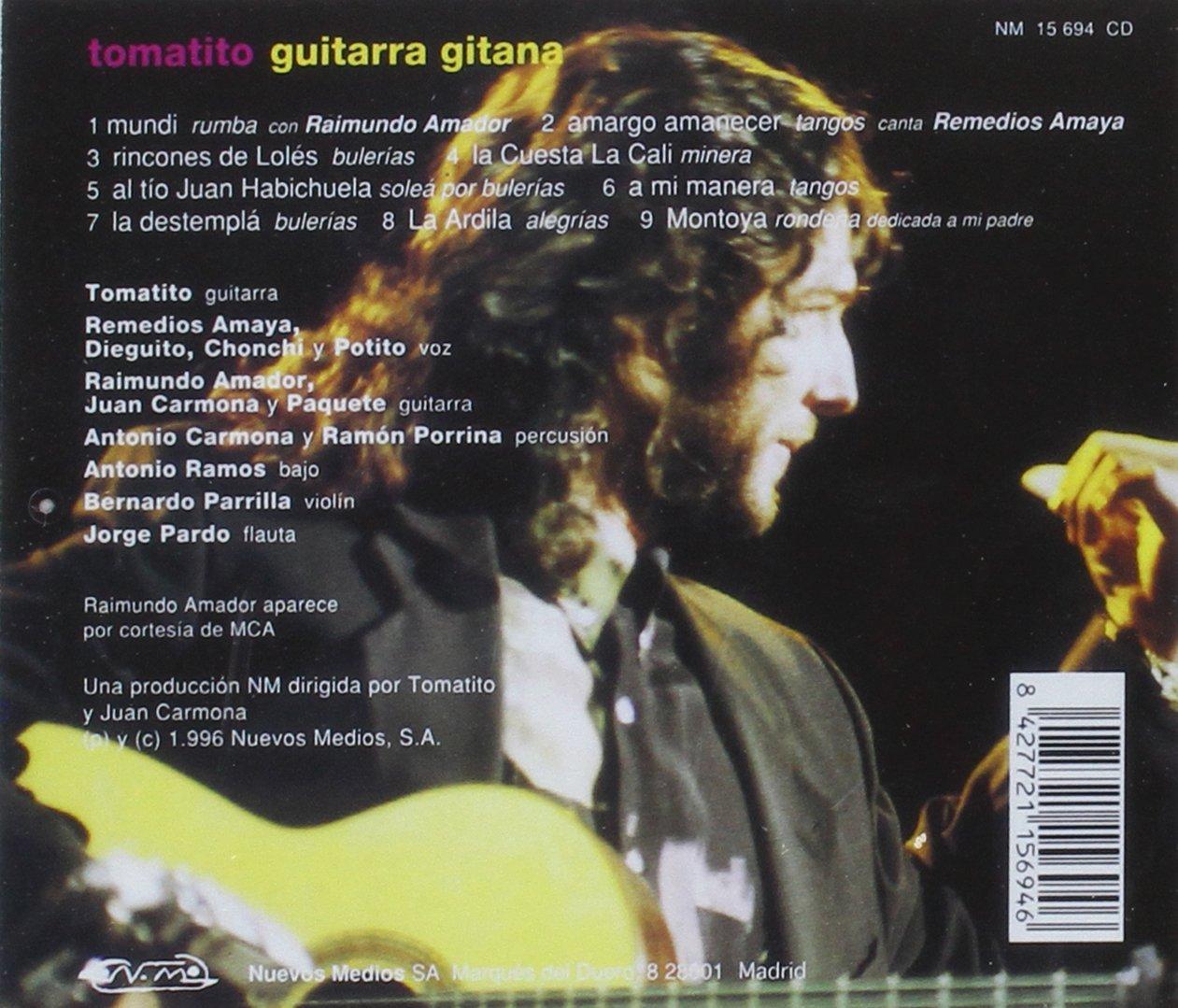 Guitarra Gitana: Tomatito: Amazon.es: Música