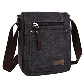 Super Modern Canvas Messenger Bag Cross Body Bag Cool Style Shoulder Bag  Fine IPad Bag Tote d1769c19c2