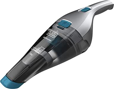 BLACK+DECKER NVC215WA-QW - Aspirador de mano sin cable 7.2V (1.5Ah) Dustbuster con acción ciclónica + accesorios: Amazon.es: Hogar