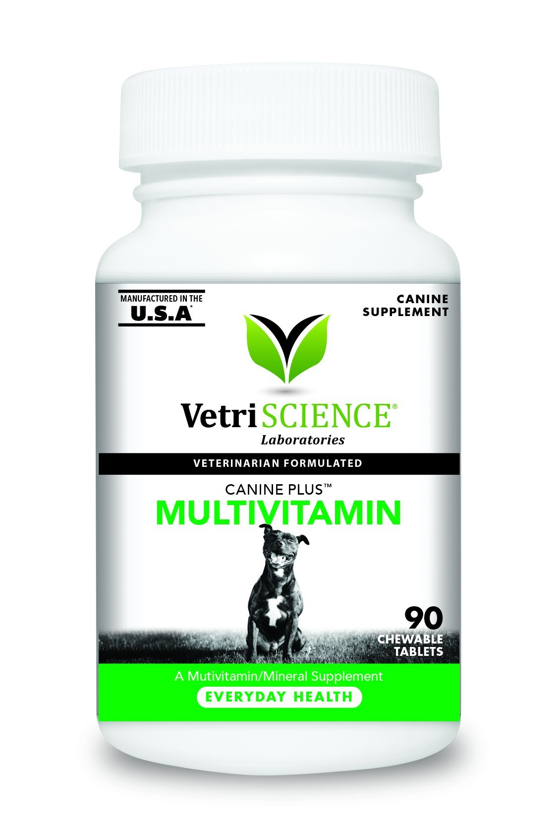 VetriScience Laboratories - Canine Plus MultiVitamin for Dogs, 90 Chewable Tablets by VetriScience Laboratories