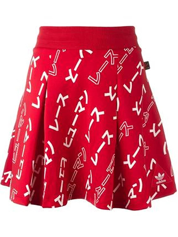 a97929db89c32 Adidas Women's Pharrell Williams HU Skirt, Red / White, S