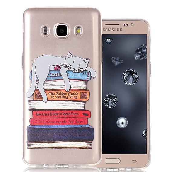hot sales 33511 9d4e9 Amazon.com: Galaxy J5 2016 Case, Samsung J5 2016 Clear Case Aeeque ...