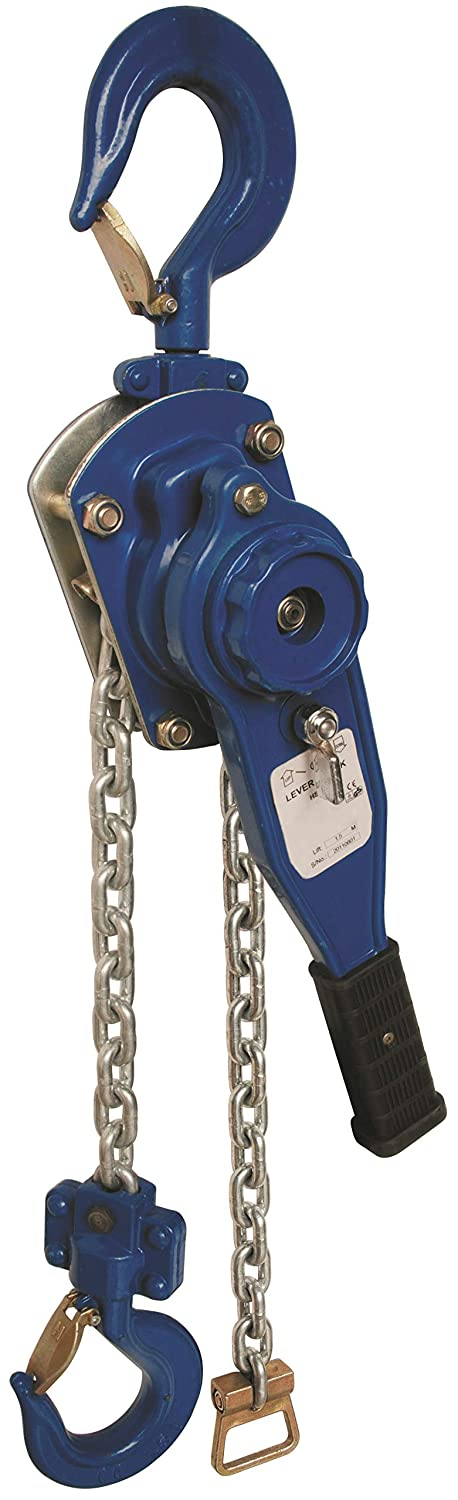 LiftinGear 750kg Lever Hoist Manual Ratchet Hand Chain Winch Lifting Come Along Pulley (4mtr) SafetyLiftinGear