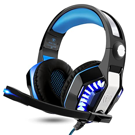 ARINO Cuffie Gaming Gamer Headset Cablate con LED per Video Gioco USB 3.5mm  Altoparlante 50mm a89c340c48d0