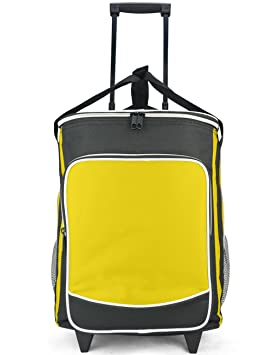 eaglemate disipadores para carrito plegable con mango telescópico, con ruedas con lámina de aluminio aislado forro: Amazon.es: Jardín