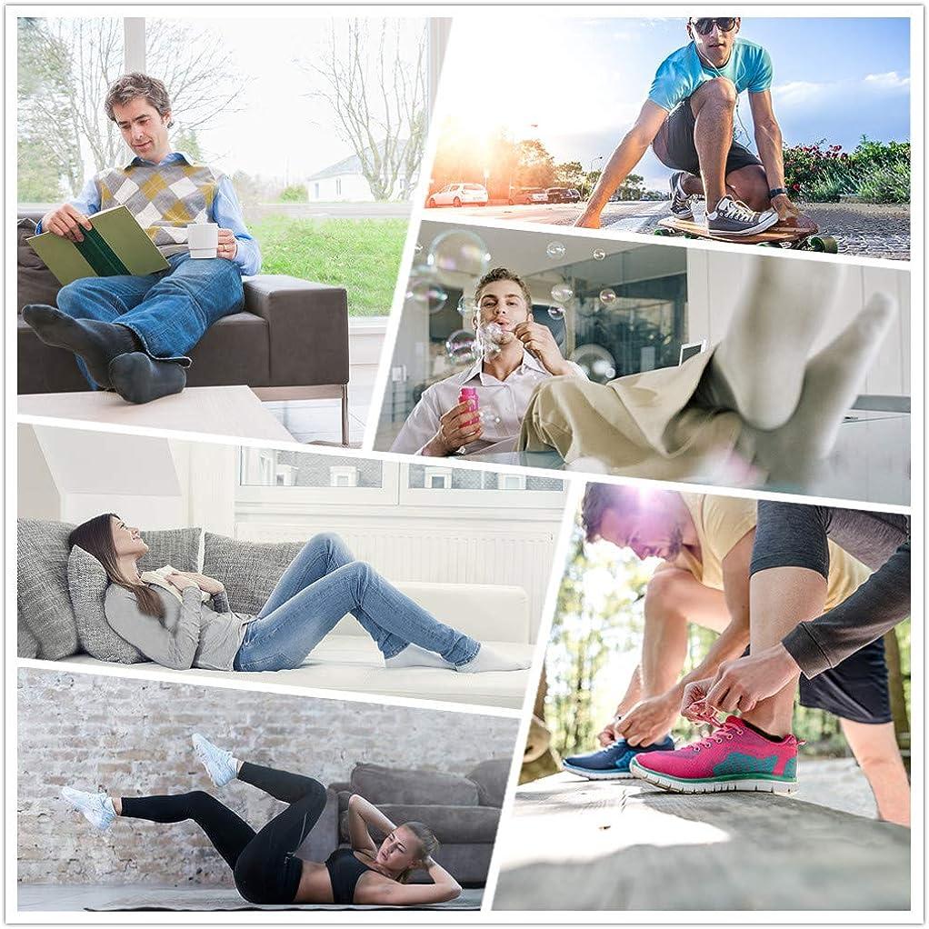 YOUSHOWS zapatillas calcetines hombres mujeres 10 pares cortos medio calcetines patucos algod/ón unisex Oeko-Tex 100