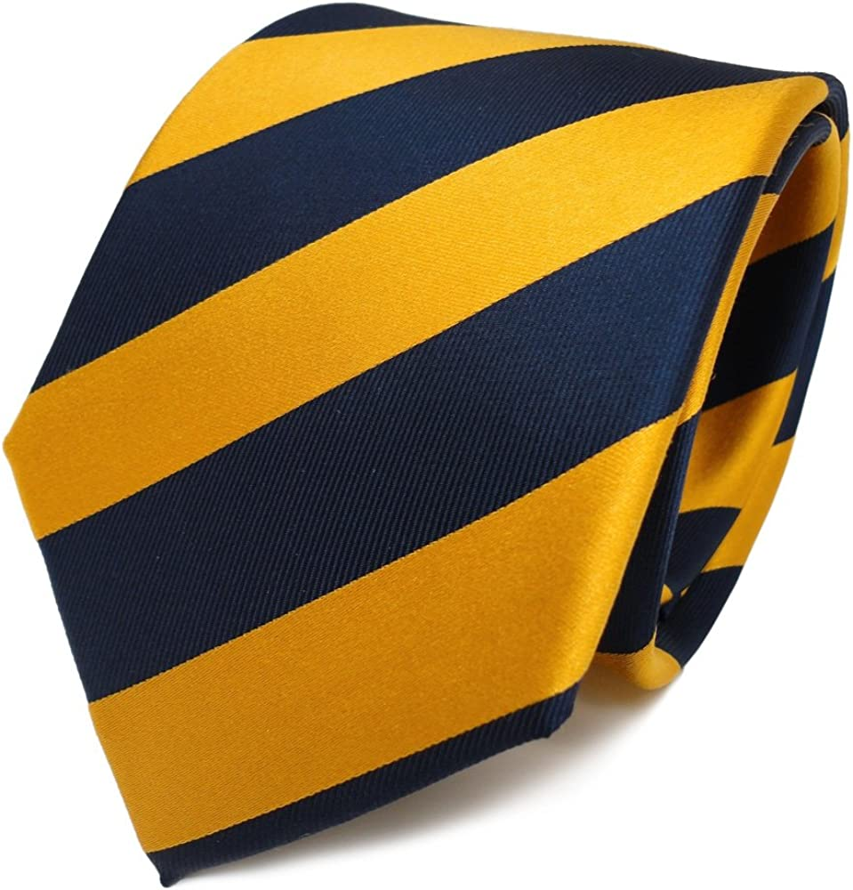 TigerTie diseñador corbata de seda - amarillo oro oro amarillo ...