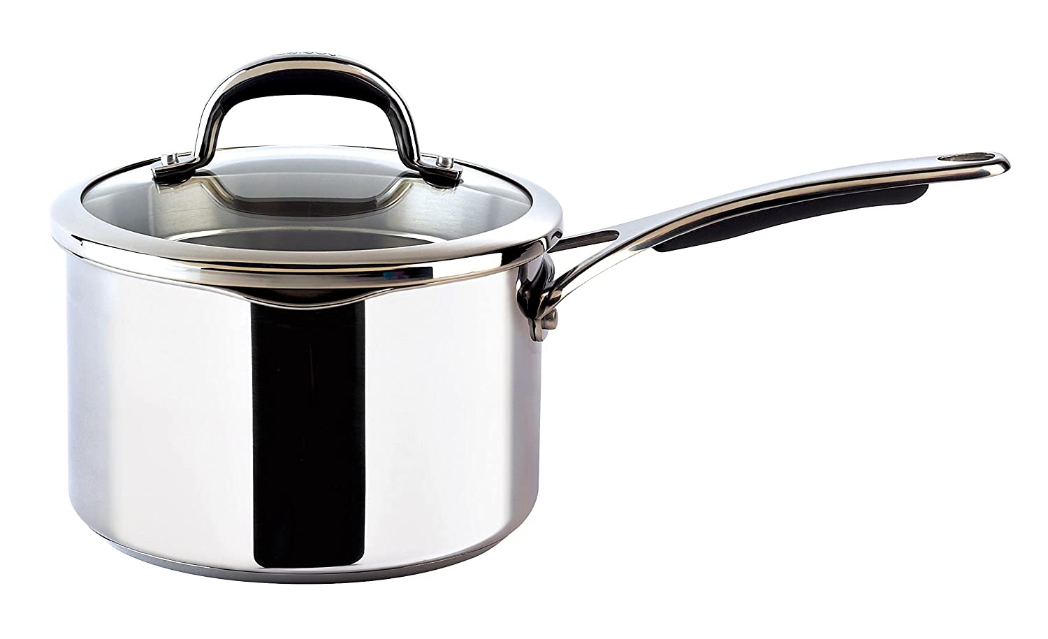Meyer Select Saucepan with Lid, Silver, 16 cm, 1.4 Litre Meyer Group Ltd 79539
