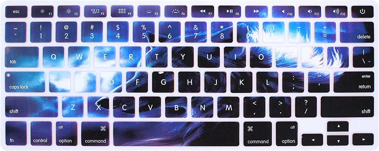Keyboard Film Skin 15-inch Apple Laptop Various Keyboard Film Skin Series Apple Laptop 15-inch Keyboard Film Protective Cover Picture Color 2