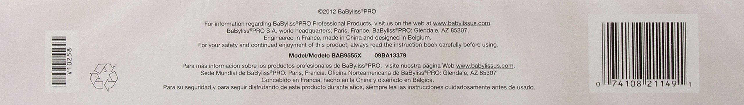 BaBylissPRO Ceramix Extreme Straightening Iron, 1 Inch