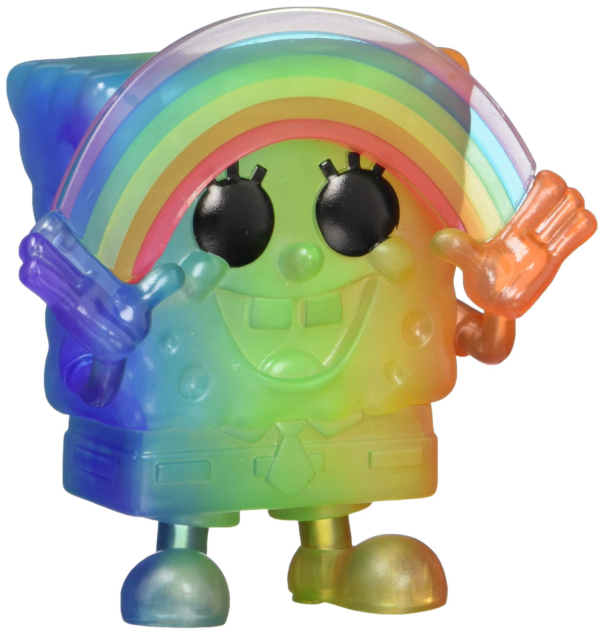 Funko Pop! Animation: Pride 2020 - Spongebob (Rainbow), 3.75 inches