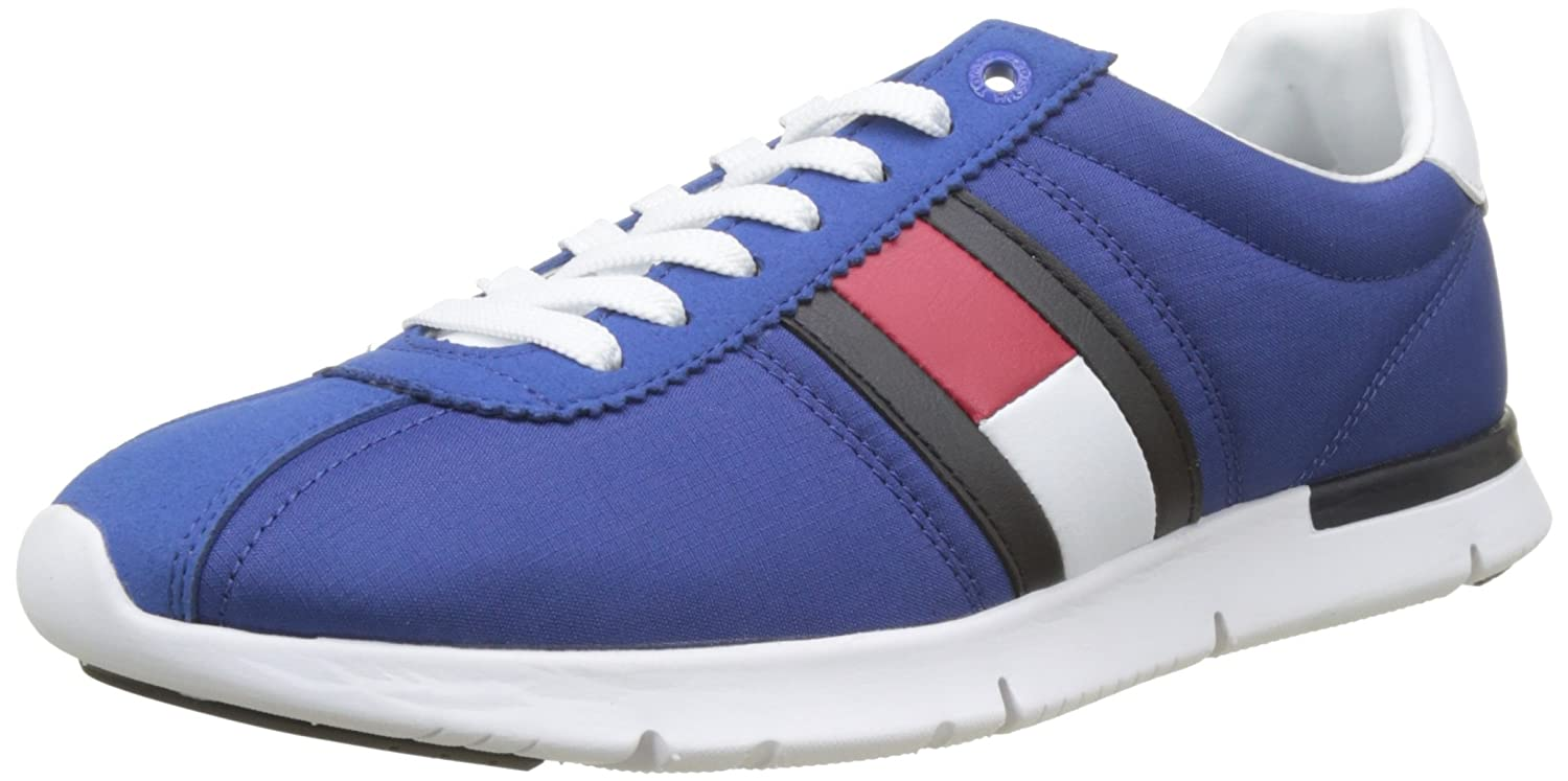 61df027f04b Tommy Hilfiger Men s Retro Lightweight Sneaker Low-Top  Amazon.co.uk  Shoes    Bags
