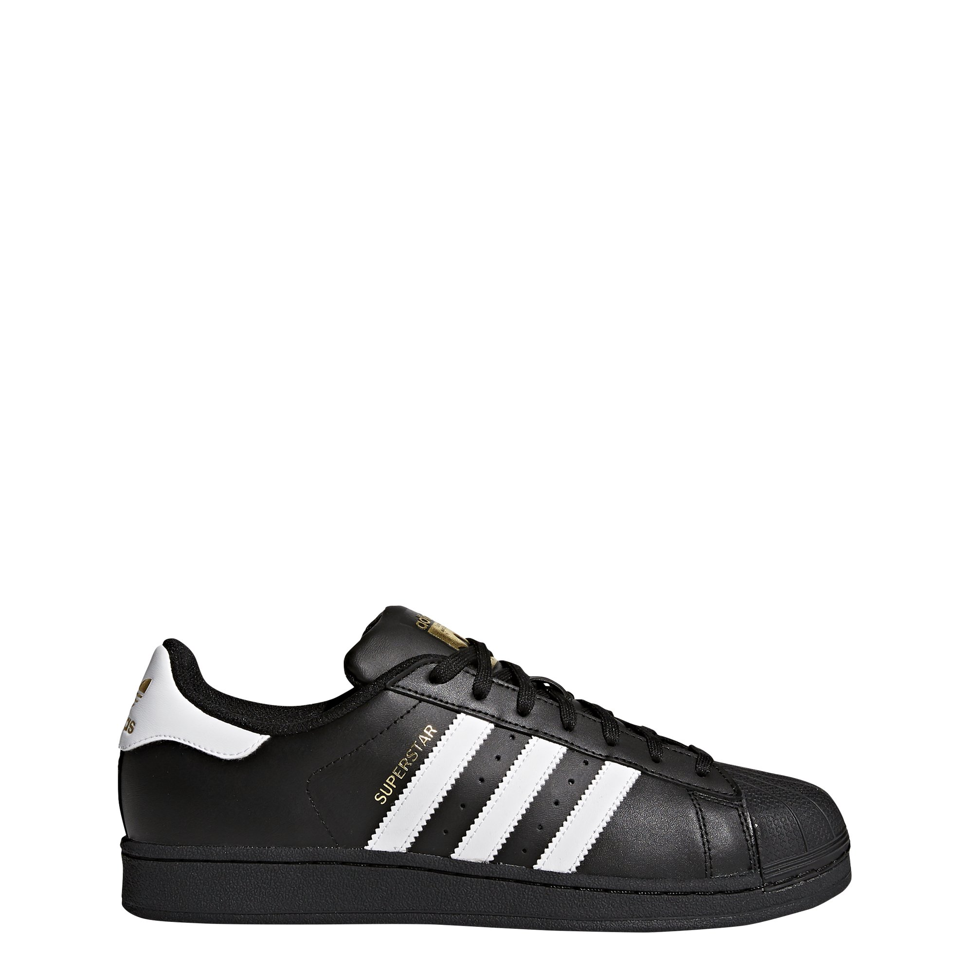 adidas Originals Men's Superstar Foundation Casual Sneaker, Black/White/Black, 11 D(M) US by adidas Originals
