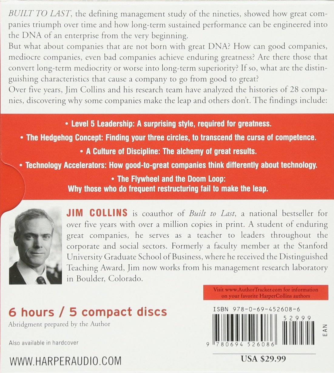 Good to Great CD: Why Some Companies Make the Leap.And Others Don't