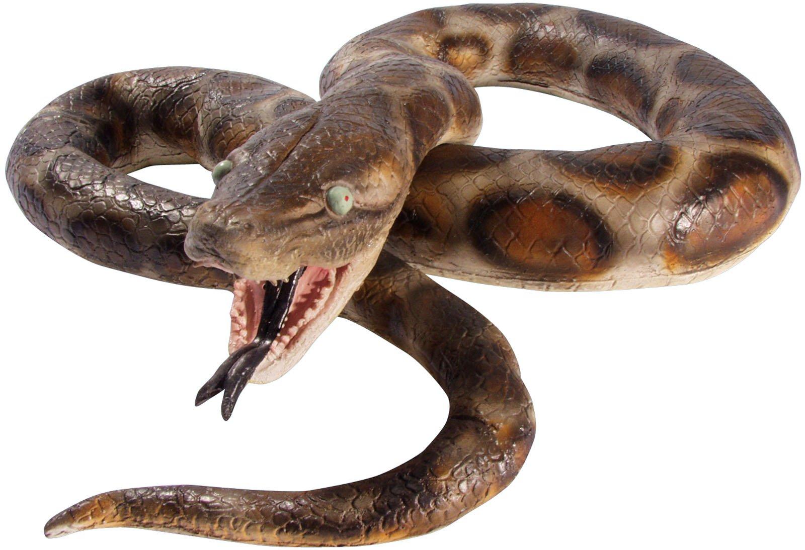 Loftus International Huge Realistic Giant Python 72'' Decoration Prop Brown Novelty Item by Loftus International