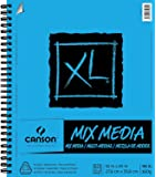 "Canson XL Series Mix Media Pad, 11""X14"" Side Wire 2-Pack"