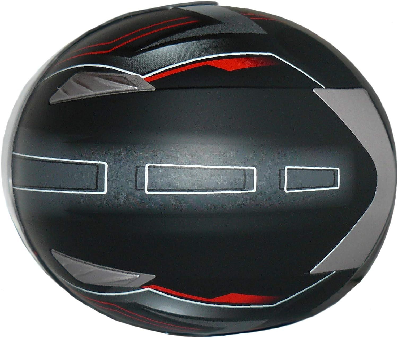 Taglia M protectWEAR Casco integrale con visiera H520-Arrow-RT M Black