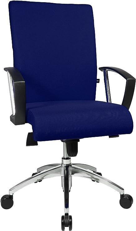 Topstar Bürodrehstuhl, Stoff, blau: : Küche & Haushalt
