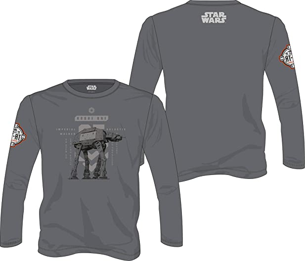 Star Wars Rogue One Long Sleeve AT-AT Walker grey Size XL Toys Sweaters