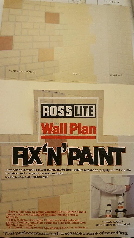 Wall tiles insulation Decorative finish expanded polystyrene: Amazon ...