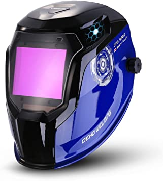 Safety Welding Helmet Arc TIG Weld Grinding Mask Pro Cover Leather material