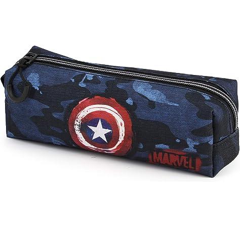 Avengers Vengadores Estuche portatodo Cuadrado, Color Azul, 22 cm (Karactermanía 33554): Amazon.es: Juguetes y juegos