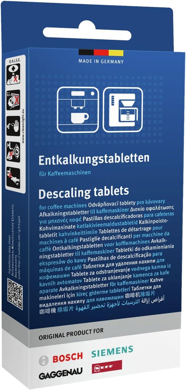 3x Bosch Siemens Pastillas descalcificadoras TZ80002 00311821 ...