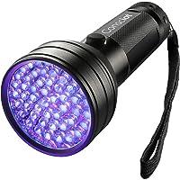 Consciot 51 LED UV Flashlight Black Light 395nm Ultra Violet Blacklight Torch Light Pet Urine Detector for Dry Dog Urine…