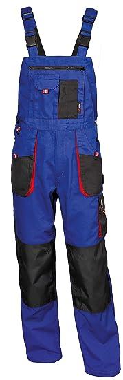 Stenso Emerton® - Salopette da Lavoro Extra Resistente - Uomo - Blu  Reale Nero 0e0185cf7d3