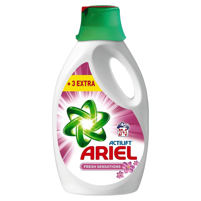 Ariel Sensaciones Detergente Líquido, Elimina Las Manchas A La ...
