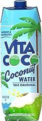 Vita Coco Coconut Water, Pure, 33.8 Fl Oz