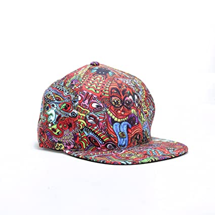 DMT Drug Dark Trippy Hippie Psychedelic LSD Full 3D Print Snapback hat  Baseball Hat Caps ( 6741d97a344