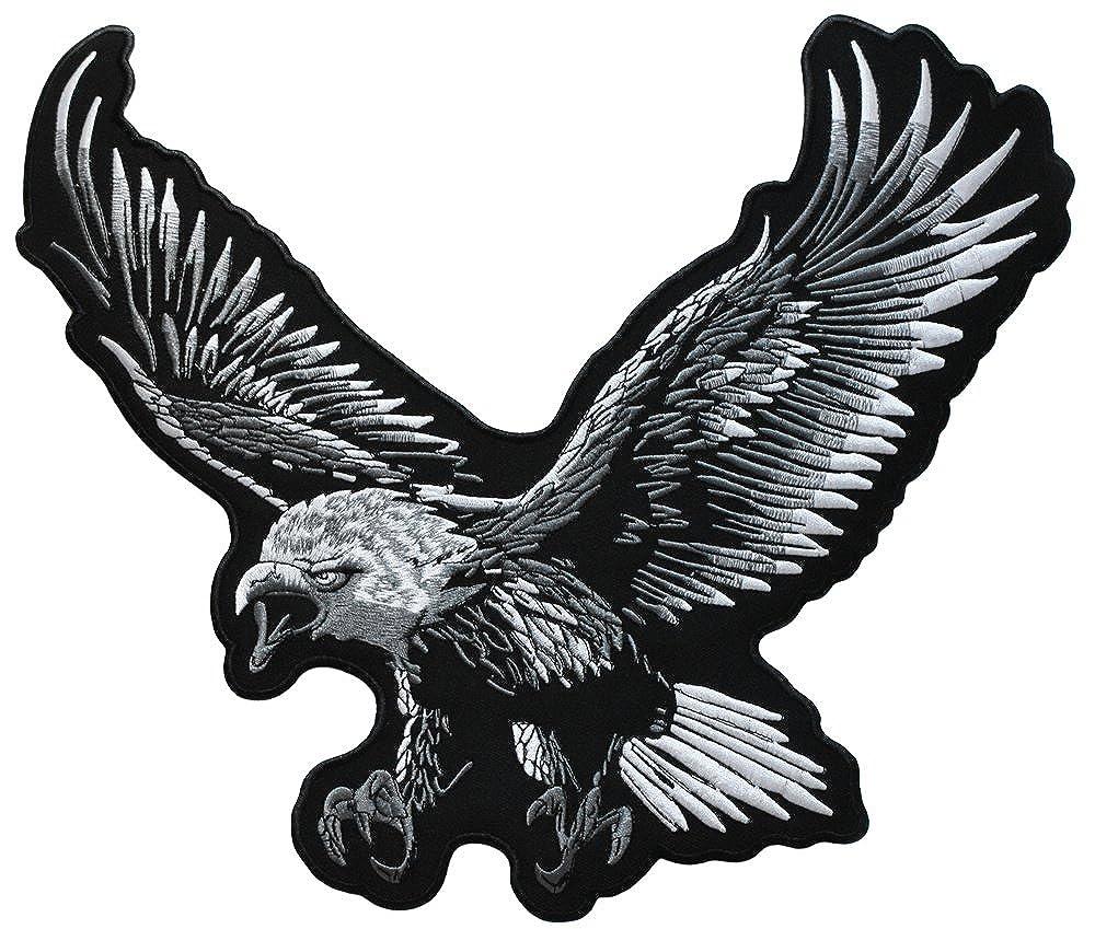 topt mili ecusson aigle indien us usa moto biker eagle thermocollant grand format 32x30cm patche badge