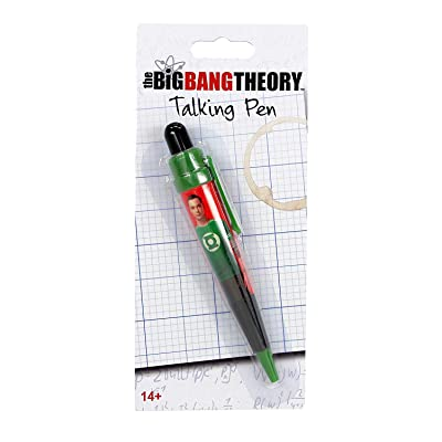 The Big Bang Theory Talking Pen - Sheldon: Toys & Games
