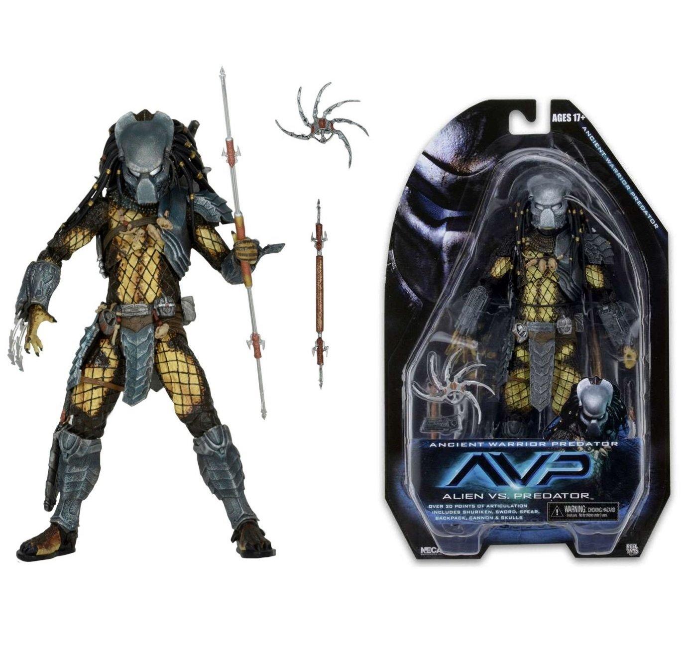 NECA Predator Series 15 Ancient Warrior Action Figure, 7 by NECA