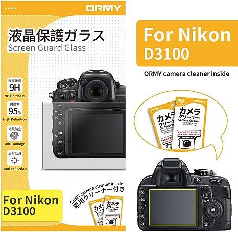ORMY 0.3mm Protector de pantalla de cámara para Nikon D3100 ...