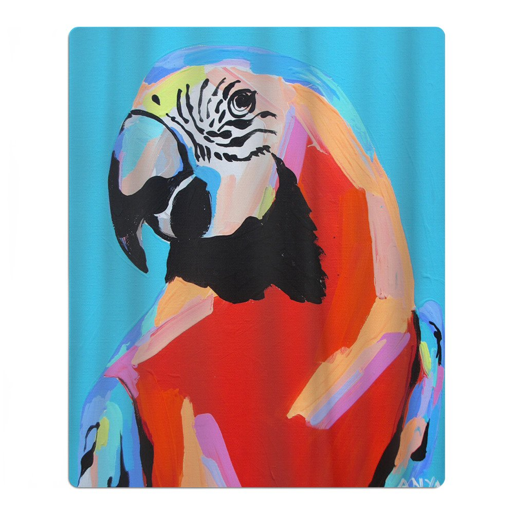 Colorful Parrot Bird Quick-drying Pool Beach Towel Travel Bath Towel For Kids