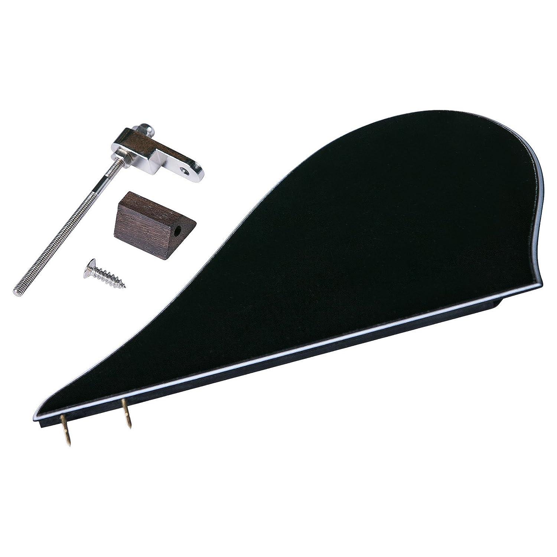 Golden Gate M-400A A-Model Mandolin Pickguard Assembly - Black/White/Black