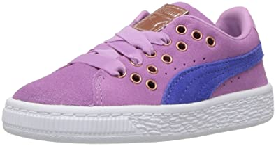 5a9bf67f455 PUMA Baby Suede XL Lace VR Kids Sneaker